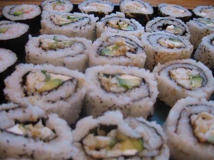 Recette maki sushi, California Rolls