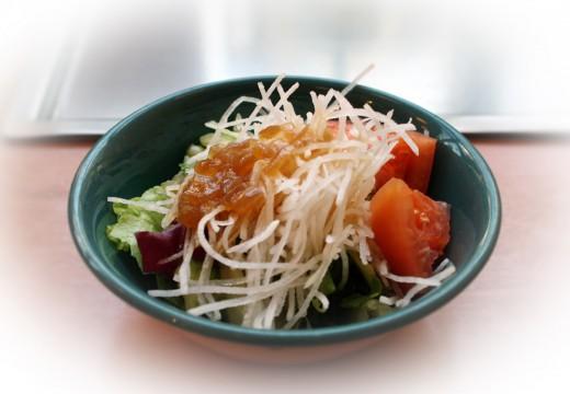 La salade japonaise