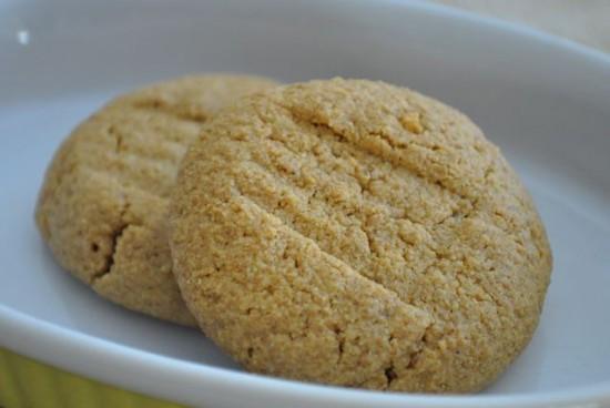 Cookies doux au Kinako (farine de soja cuite)