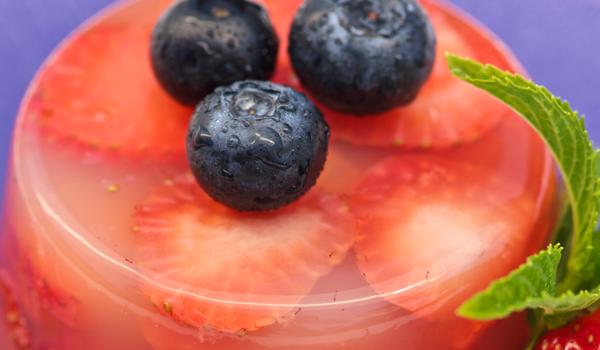 Recette de Kanten aux fraises