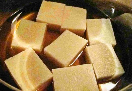Le Koyadofu : le Tofu séché et surgelé