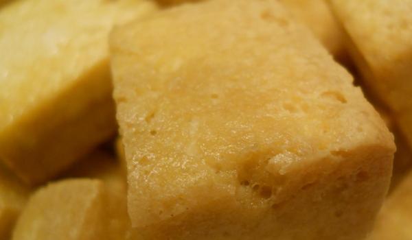 Le Tofu frit croustillant