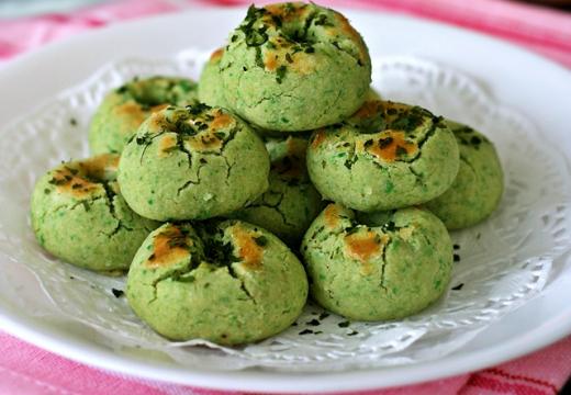 Cookies de Petits pois à l'Aonori